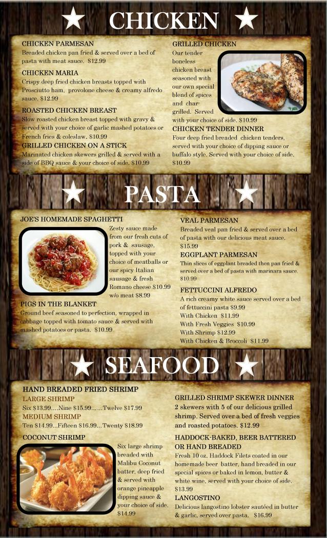 House of prime rib menu pages house plan 2017 for Prime fish menu