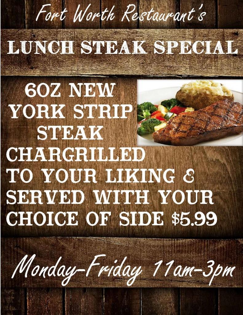 lunch steak